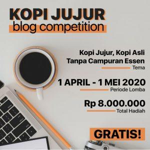 kopi jujur blog competition