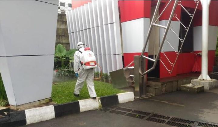 Jalan-jalan di Jakarta Akan Disemprot Disinfektan
